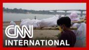 Makeshift crematoriums are built as India's crisis worsens 2