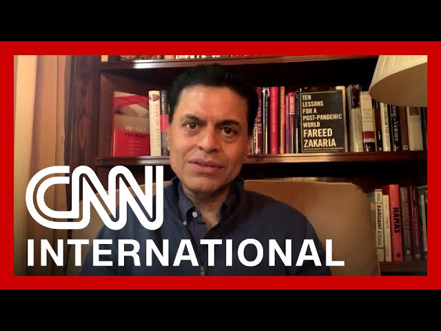 Fareed Zakaria: A second lockdown in India is 'impossible' 7