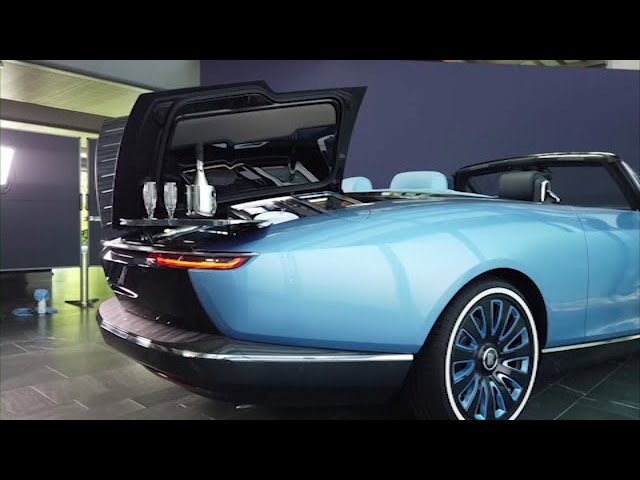 Rolls-Royce 'masterpiece' offers cocktail tables and more 1