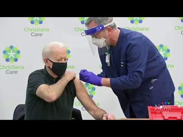 uOttawa grad administers vaccine to U.S. President Biden 1