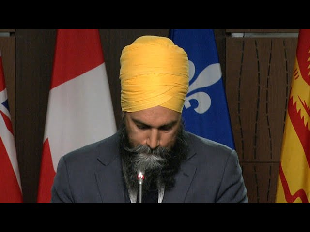 Jagmeet Singh's emotional message to families who lost loved ones at residential schools 1