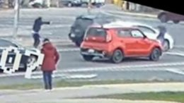 WATCH: Video shows brazen, daylight gunfight in the middle of a busy Ontario intersection 1