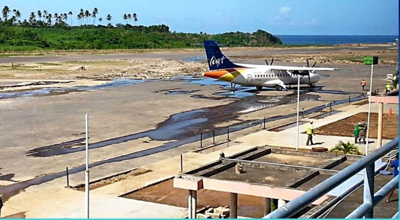 Dominica signed an agreement with Montreal Management Company to construct the airport