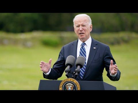 U.S. will be the world's 'arsenal' in COVID-19 fight: Biden | G7 summit in U.K. 1