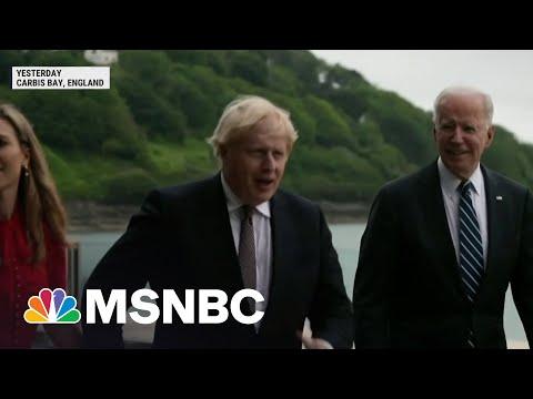 Biden Set To Attend G-7 Summit Friday In England | MSNBC 1