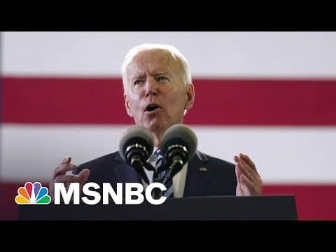 World Opinion Of The U.S. Rebounds Under Biden   MSNBC 6
