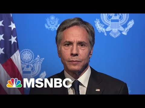 Blinken: U.S. Will 'Respond Forcefully' To Russian Aggression | MSNBC 1