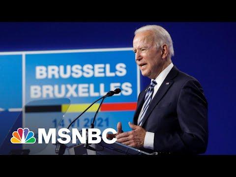 Trump's Shadow Hangs Over Biden's Meeting With NATO Leaders 8