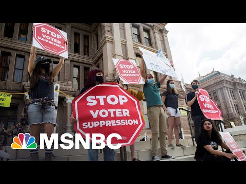 Local Activists Rally To Send Message To Senators On Voting Rights 1