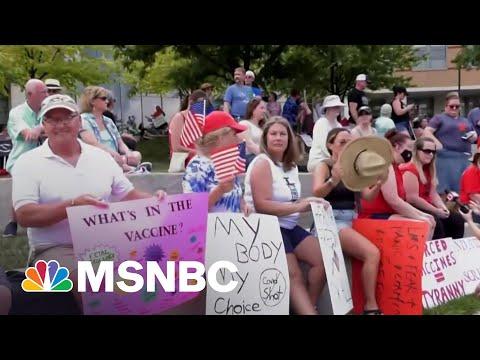 Judge Dismisses Lawsuit Over Hospital Vaccine Mandate | MSNBC 9