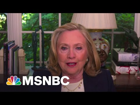 Hillary Clinton: Putin Is The Great Disrupter | MSNBC 2
