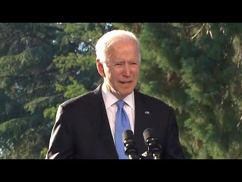 Biden speaks after meeting with Putin in Geneva 4
