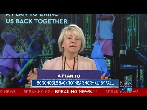 Dr. Henry expects B.C. schools back to 'near normal' by fall | COVID-19 in Canada 1