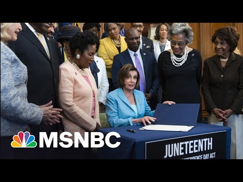 Rep. Jackson Lee On Juneteenth: 'America, Show The World Your Experiment Is Working' 1