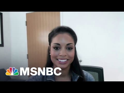 Dr. Ebony Hilton: 'Covid-19 Is Not Tired Of Us'   MSNBC 1