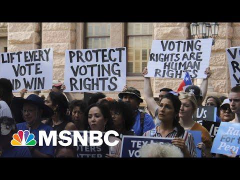 Pro-Democracy Activists Gear Up To Pressure Senators On Voting Rights Bill 4