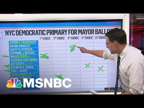 How Ranked-Choice Voting Will Determine NYC Mayoral Nominee 1