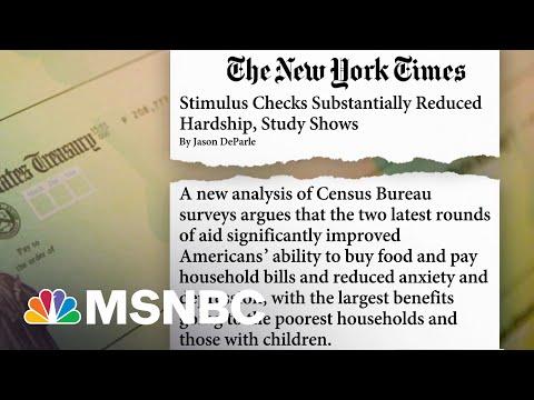 Study Shows Stimulus Checks Helped Reduce Hardship, What's Next? 8