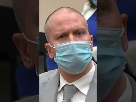 WATCH: Judge sentences Derek Chauvin to 22.5 years for George Floyd's murder #shorts 1