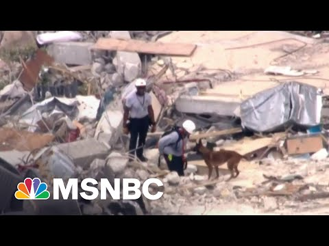 Four Dead, 159 Unaccounted For After Florida Condo Collapse | MSNBC 1