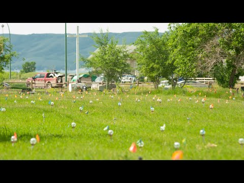 751 lights mark unmarked graves at Cowessess First Nation in Sask. 4
