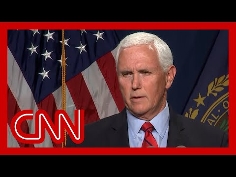 Hear what Pence said about Trump and the insurrection 1