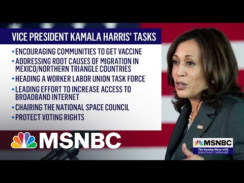 Vice President Kamala Harris Visits The U.S.-Mexico Border 4