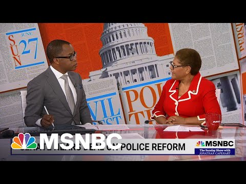 Rep. Karen Bass Explains Why Passing Police Reform Is Essential 1
