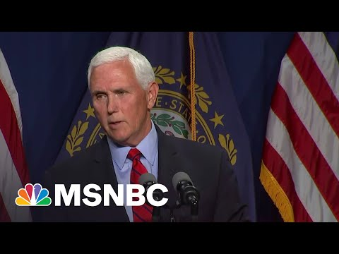 'Crazy': Pence Excoriated For Giving Trump A Pass On MAGA Riot 7