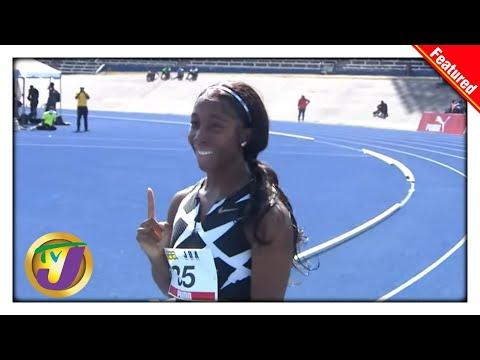 Shelly-Ann Fraser-Pryce 100m 10.63 record | OLYMPIC DESTINY SERIES 2021 1