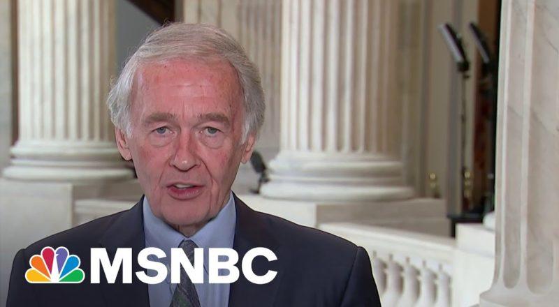 Sen. Markey On Infrastructure Bill: 'No Climate, No Deal' | MSNBC 1