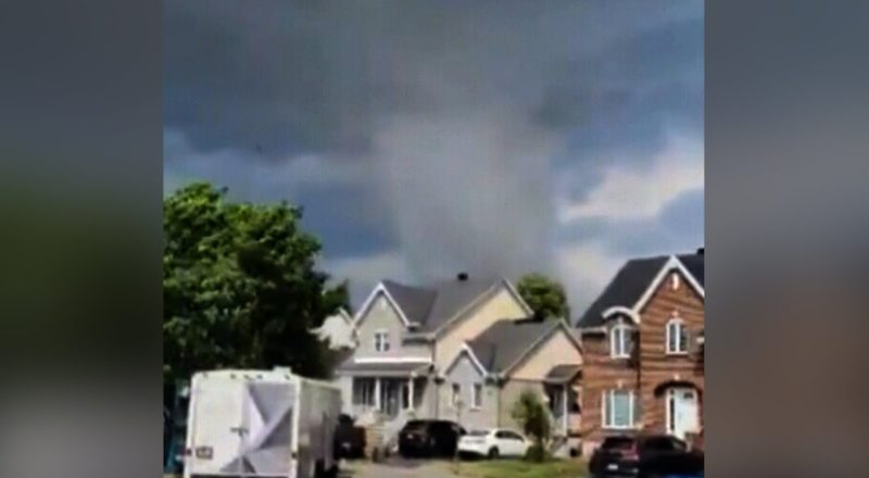 At least one person is dead after tornado near Montreal 5