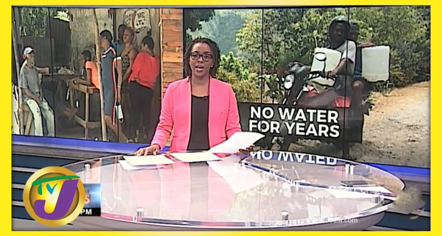 Rural Community in Jamaica Crying out for Water   TVJ News 1
