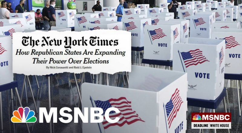 A 'Power-Drunk' GOP Rigs The Rules To Limit Voting 1