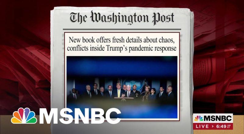 Trump Discussed Sending Americans With Virus To Guantanamo | MSNBC 2