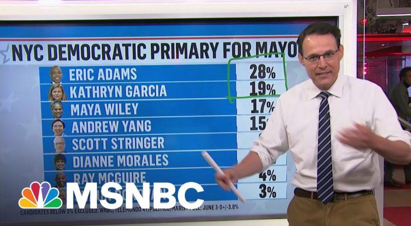 Kornacki Breaks Down New York City's Ranked Choice Voting Experiment 5