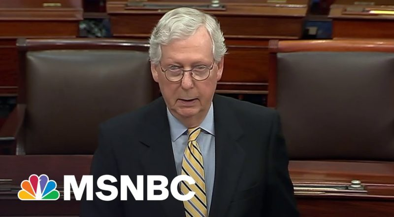 McConnell Claims Aspects Of Voting Bill Could Lead To 'Grudges' 1