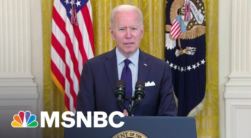 Biden Expects To Miss July 4 Vaccination Goal   MSNBC 1