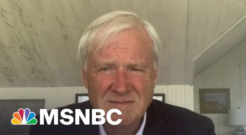 Chris Matthews: 'I Felt Violated' By The Capitol Attack   MSNBC 1