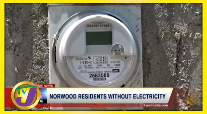 Norwood Residents in Montego Bay, Jamaica Without Electricity - June 21 2021 2