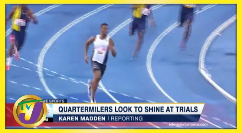 Quartermilers Look to Shine at Jamaica's Athletics Trials - June 21 2021 1