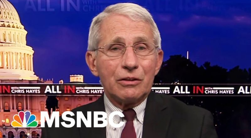 Fauci: If You're Vaccinated, You're Safe. If You're Not, You're At Risk 1