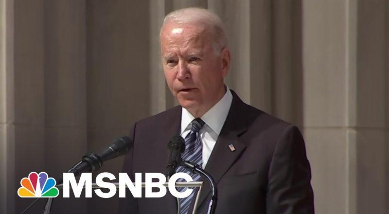 Biden Remembers Former Sen. John Warner As 'A Man Of Conscience' 1
