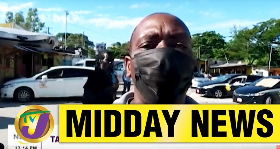 Jamaica's Taxi Operators in St. Elizabeth Claim Police Harassment | TVJ Midday News - June 1 2021 1