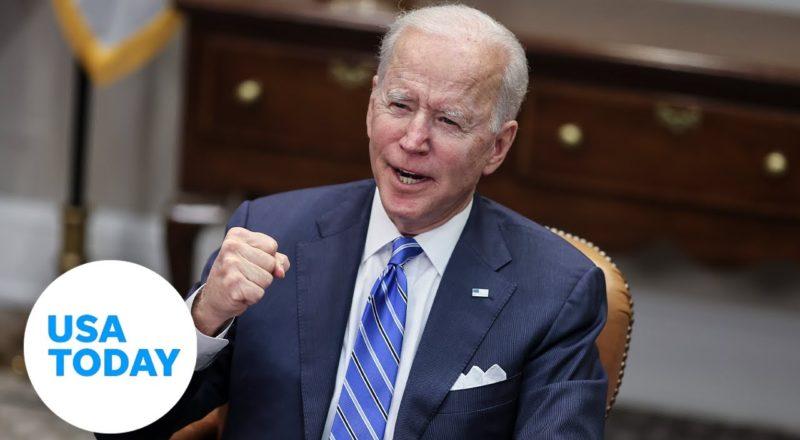 President Joe Biden and Attorney General deliver remarks on gun crime prevention   USA TODAY 1