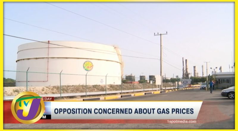PNP Concerned about Gas Prices in Jamaica | TVJ Business Day - June 22 2021 1