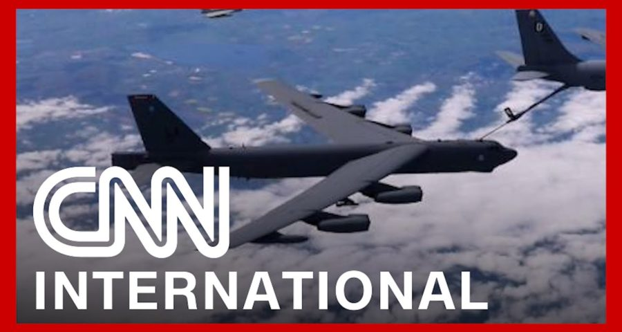US and allies fly over NATO countries in message to Putin 1