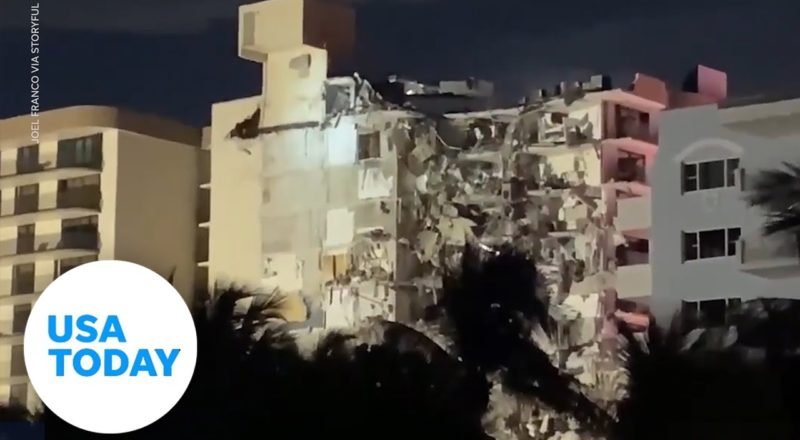 Oceanside condo building has partially collapsed in Florida | USA TODAY 9