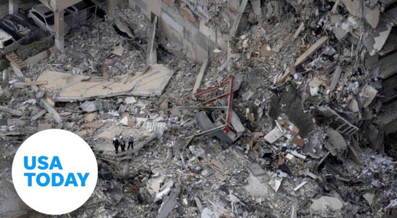 Gov. DeSantis holds news conference after building collapse (LIVE) | USA Today 8