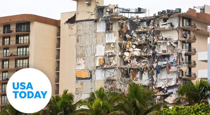 Miami condo collapse: Drone footage shows the destruction | USA TODAY 7